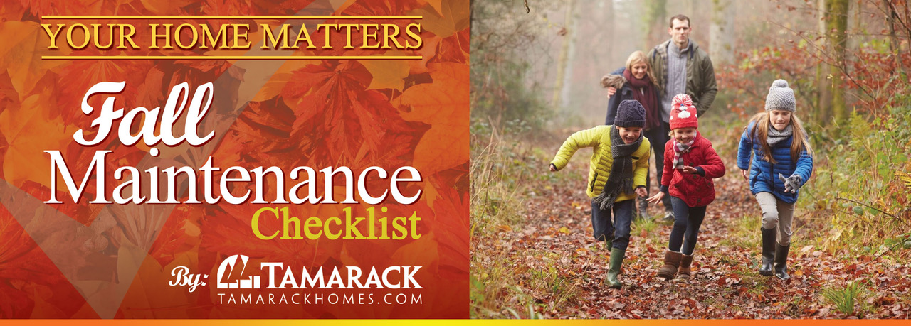 2018 Fall Maintenance Checklist