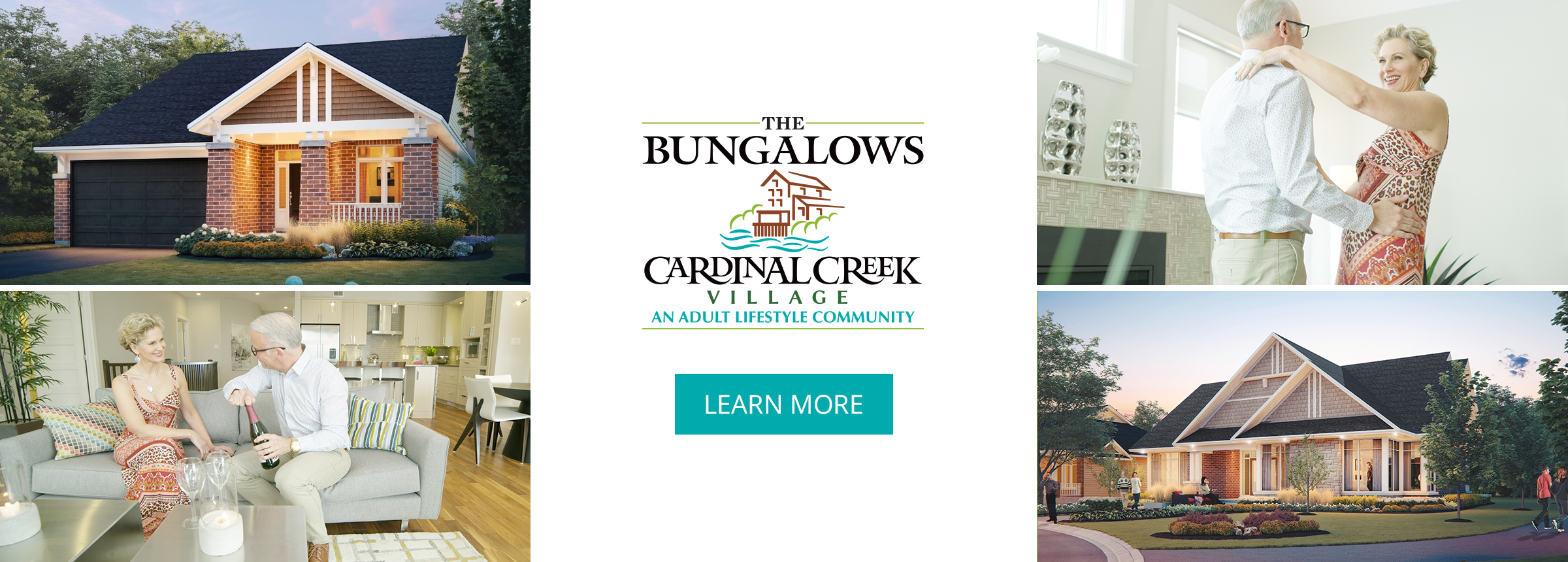 The Bungalows: Cardinal Creek Village - An Adult Lifestyle Community