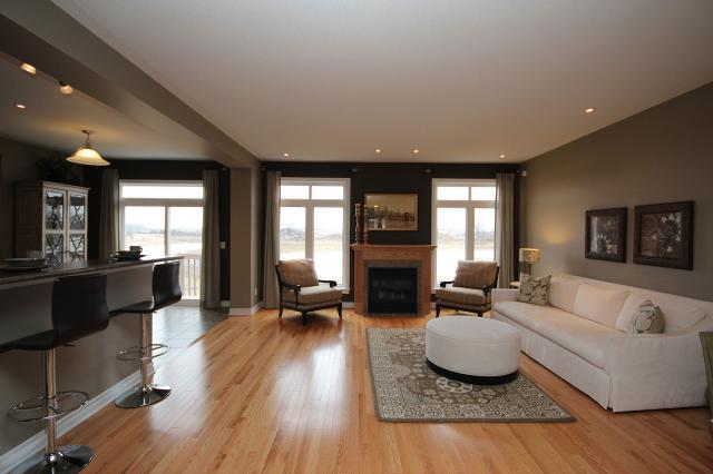 Tamarack bristol model home