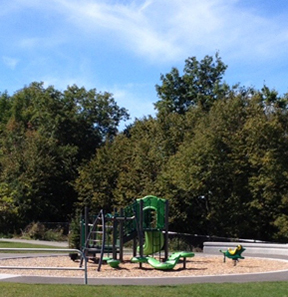 Childrens Park in the Riverview Neighbourhood