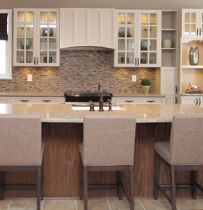 Beautiful Kitchen inside a Riverviwew Model Home