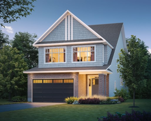 Emerson Elevation Craftsman  by Tamarack Homes
