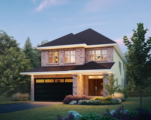Bristol Elevation E Single Family Home by Tamarack Homes