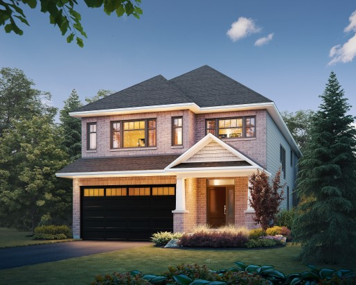 Hartland Elevation C  by Tamarack Homes