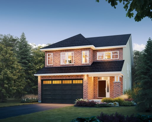 Payton Elevation B  by Tamarack Homes