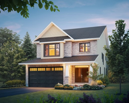 Sable Elevation B  by Tamarack Homes