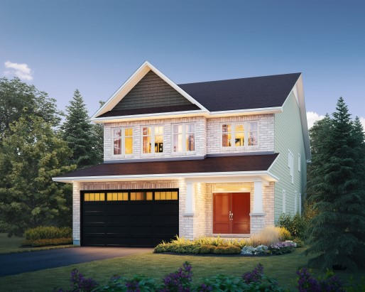 Sable Elevation C  by Tamarack Homes