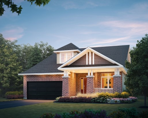 Sample Rendering of Single Home Option