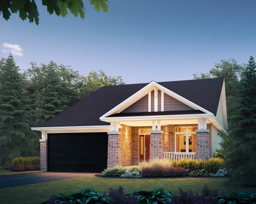 Tamarack The Meadows Oriole Single Family Home Elevation