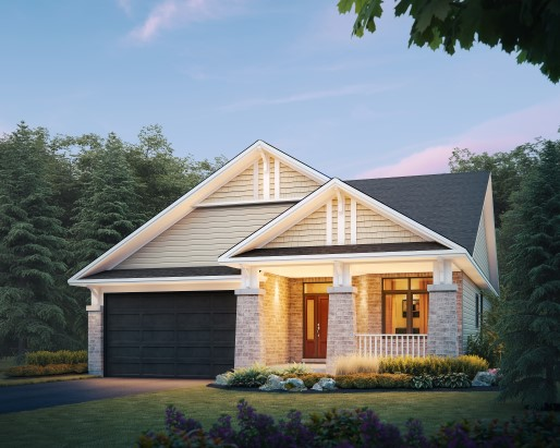 Oriole Elevation D Single Family Home by Tamarack Homes