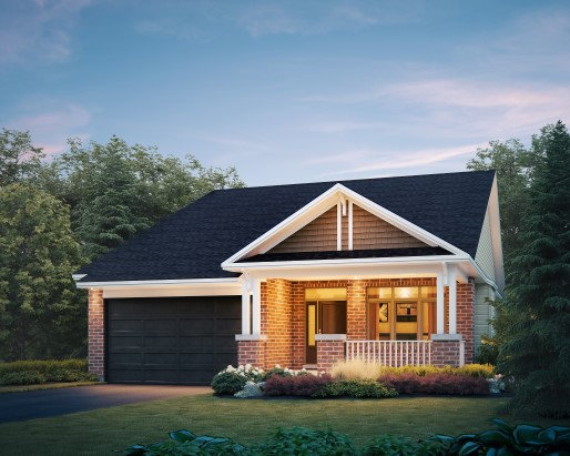 Osprey Elevation A Single Family Home by Tamarack Homes