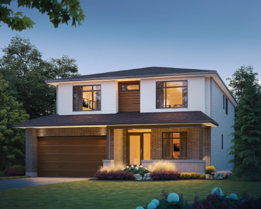 Granger Elevation  by Tamarack Homes