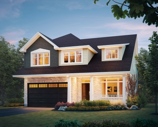 Tamarack The Meadows Lancaster Single Family Home Elevation