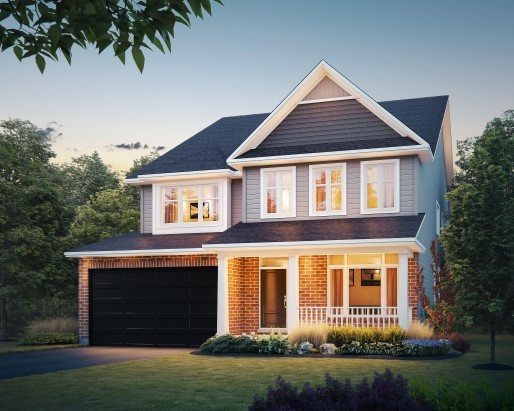 Tamarack Woodhaven Oxford II Single Family Home Elevation