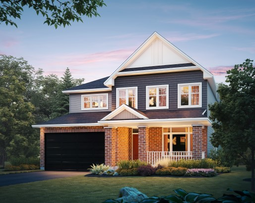 St James Elevation A Single Family Home by Tamarack Homes