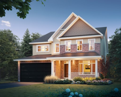 Tamarack Cardinal Creek Village St James II Single Family Home Elevation