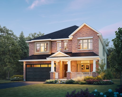 Tamarack The Meadows Regent Single Family Home Elevation