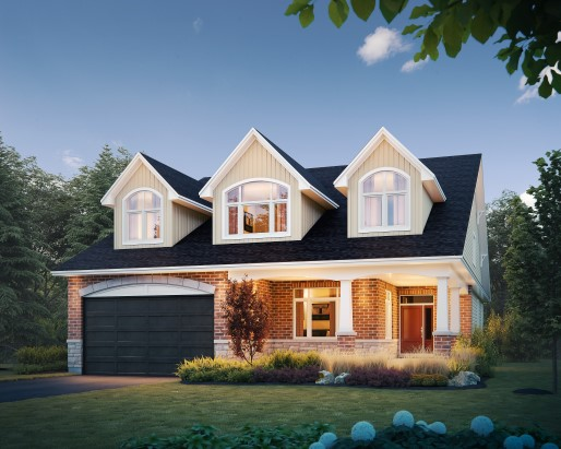 Tamarack The Meadows Jamestown Single Family Home Elevation