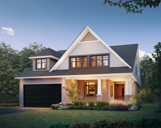 Jamestown Elevation E  by Tamarack Homes
