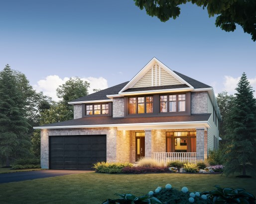 Tamarack Westwood Hampton Single Family Home Elevation