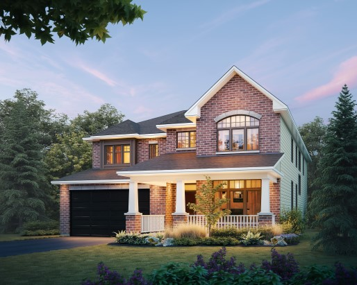 Tamarack The Meadows Bainbridge Single Family Home Elevation