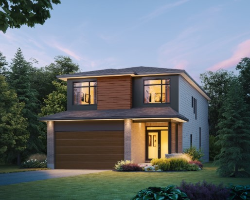 Concord Elevation  by Tamarack Homes