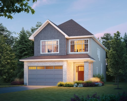 Concord Elevation Craftsman  by Tamarack Homes