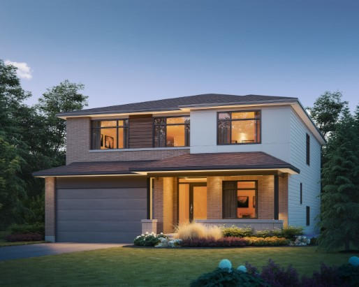 Kensington Elevation  by Tamarack Homes