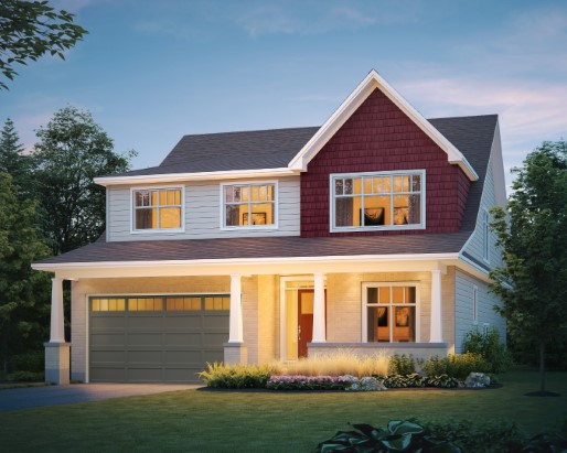 Kensington Elevation Craftsman  by Tamarack Homes