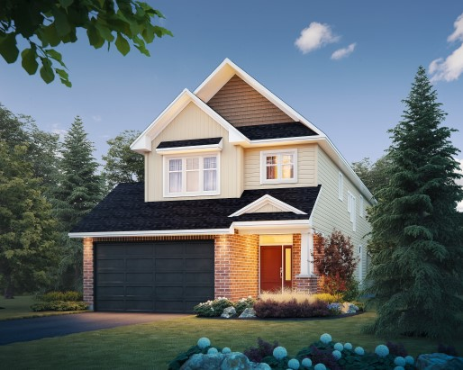 Windsor Elevation  by Tamarack Homes