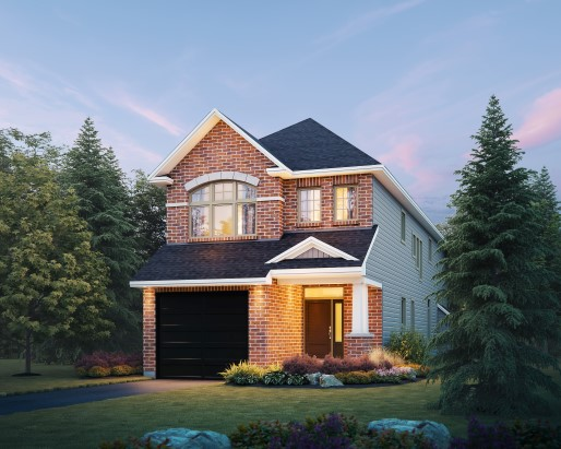 Windsor Elevation B Single Family Home by Tamarack Homes