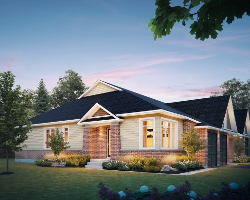 Tamarack Poole Creek Village Kingbird Single Family Home Elevation